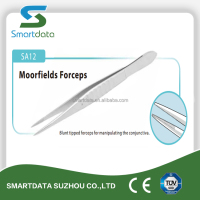 Ophthalmic Moorfiled Forceps, surgical eye forceps, CE Marked Single Use Ophthalmic Instruments