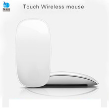 Manufacture price 2.4G optical wireless arc touch mouse usb bluetooth touch mouse for laptop