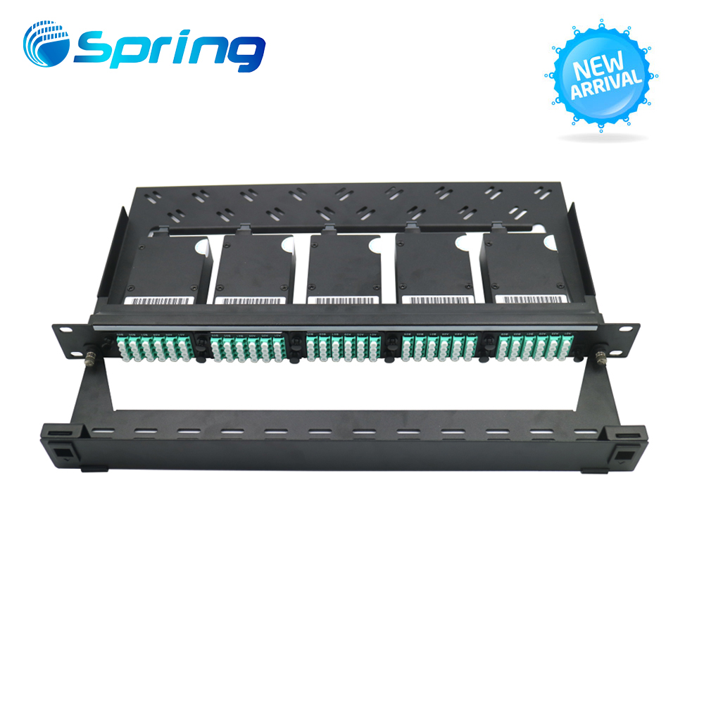 High quality FDB006 Duplex Fiber optical DIN Rail Patch Panel Splice Terminal Box with SC Adapter