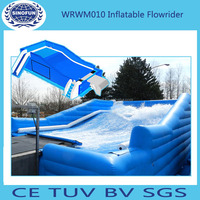 mobile inflatable flowrider of water park rides