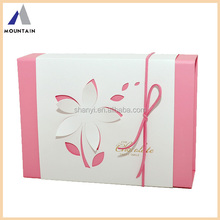OEM retail chocalate packaging box tuck