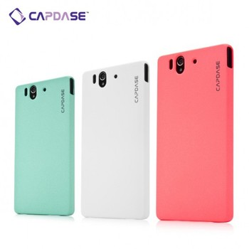 Karapace Jacket Touch Mobile Phone Case for Xperia Z