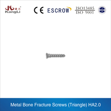 High quality 1.5mm and 2mm triangle orthopedic cortex Screw, surgical screw of Kangli