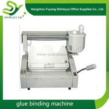 CE paper glue binding/binder machines price with free shipping