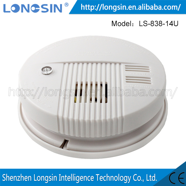 two wired conventional network photoelectric Smoke Detector LS-828-18L-2