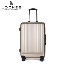 Plastic Polycarbonate 24 White Hard Vintage Metal Suitcase With Wheel