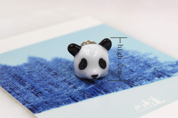 porcelain animal brooch hand-made fashion brooch wholesale dress accesory brooch for wedding party