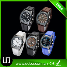 New Arrival Colorful Living waterproof clock wrist watch for men and women