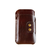 Genuine Leather Mobile Phone Cover Vintage Protective Case for iPhone 6
