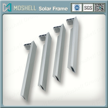 high quality anodized black extruded aluminum alloy solar frame