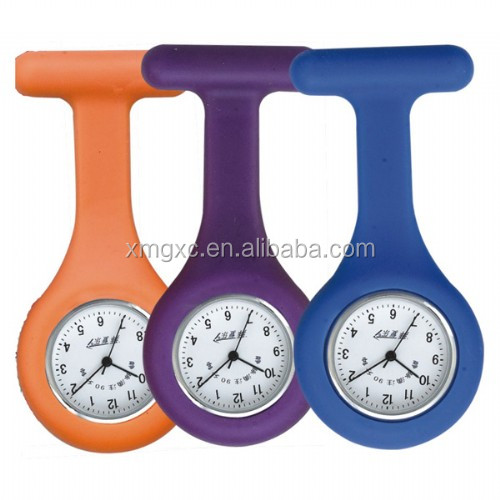 Hot products cheap wholesale silicon rubber nurse watch