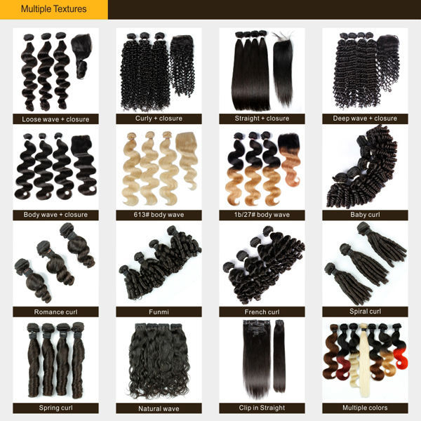 JP Luxury Hair Unprocessed Cheap Price Wholesale Virgin Brazilian Hair 6A Ombre