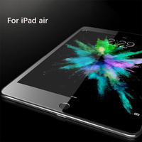 New hot selling and high transparent tab screen protector tempered glass for iPad air