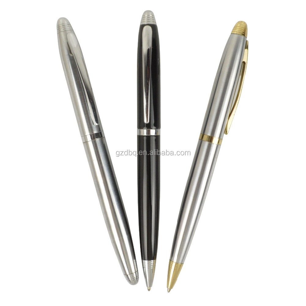 New luxury gift promotion metal ball pens with custom logo advertising ballpoint pen personalized metal