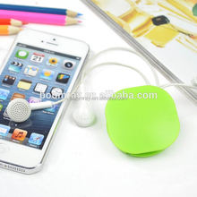 1 dollar shop earphone plasctic cable winder shenzhen mobile phone accessories