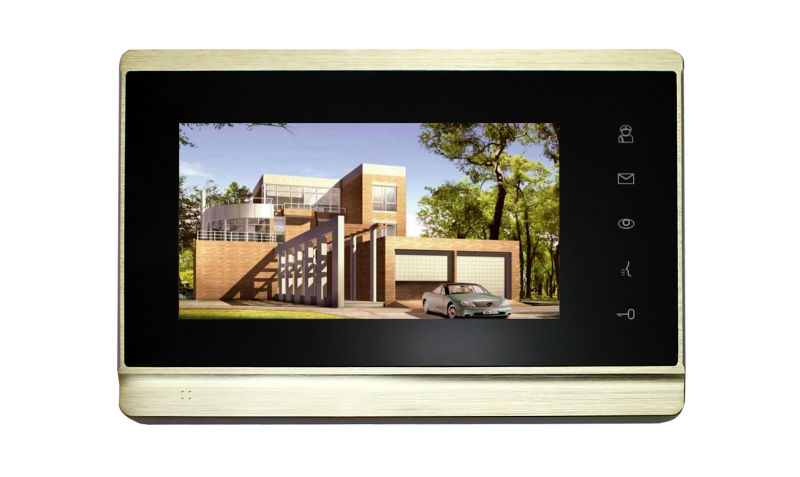 TCP/IP video door phone ip based video intercom apartment building IP video intercom