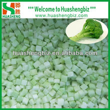 FROZEN IQF Broccoli Chopped Stem Dice