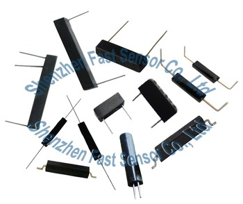 plastic housing mould rectangular 12V normal open N/O SPST magnetic actuated reed switch sensor