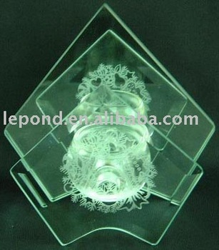 fashion acid etched glass_frosted glass_decorative glass