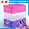 Factory Custom PVC Clear Packaging Transparent Box for Shoes