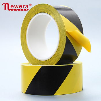High Quality shelf adhesive warning sticker safety tape