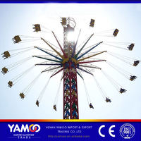 2016 factory direc plyground equipments amusement park rides flying tower chair type sky flyer for kids