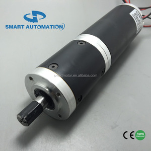 IP 54 52mm SERIES pm dc planetary gearmotor