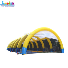 High Quality Inflatable Construction Tent, 100ft Dome Tent Inflatable Buildings for Paintball Bunker Game