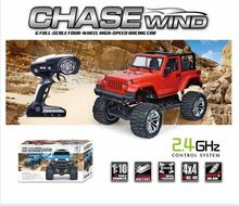1481406-1-10 2.4G 4WD RC Climbing Car 3 Channels Proportional Remote Control RC Jeep