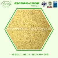 China Suppliers Rubber Vulcanising Agents Chemicals INSOLUBLE SULPHUR