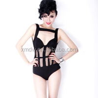 European Style One Piece Black Sexy