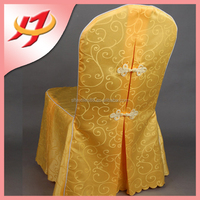 wholesale cheap fancy universal banquet chair cover for wedding Hotel, jacquard round back chair covers