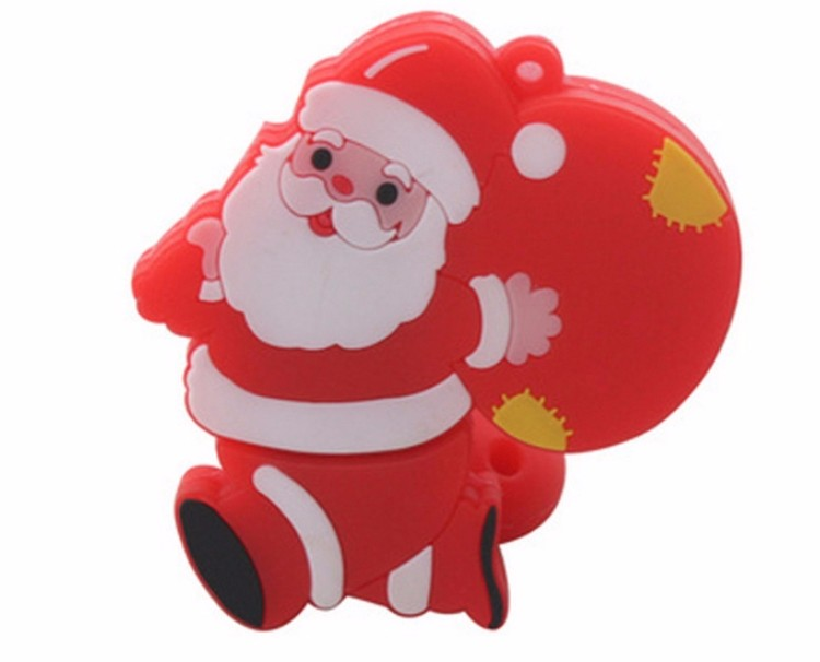 Custom Christmas Gift PVC Usb Drive Soft Touch Usb Stick 8gb PVC Usb Flash Drive
