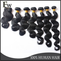 Factory big stock wholesale loose wave brazilian hair weave