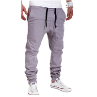 MOON BUNNY Pants New Fashion Casual Sweatpants Sports Trousers Drop Crotch Jogging Pants Men Joggers Outdoor Asian wholesale MOQ