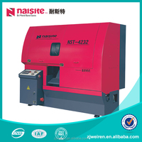 NST-4232 High Quality saw machine CNC Double-Column Horizontal Metal Cutting Band saw machine