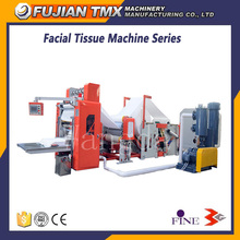 Double-Sided Embossing Wash Room Hand Towel Machinery Box Packing Facial Tissue Paper Making Machine