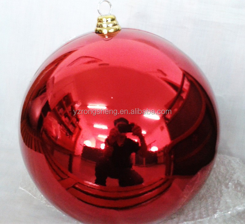 direct factory custom party large shatterproof plastic christmas ball ornament