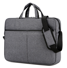 Laptop Bag 15.6 Inch, Fabric Laptop Messenger Shoulder Bag Case Briefcase for 15 - 15.6 Inch Laptop / Notebook