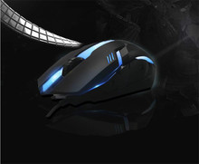 2400DPI USB Wired Gaming Mouse 3D Optical LED Mice For Laptop PC Computer Home Office Lol Game MK66