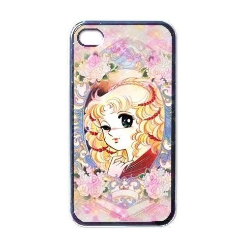 Black anime manga Candy Candy tpu silicon cellphone case cover for iphone 5/5s 6 6plus Samsung Galaxy S3/4/5/6 edge Note 2/3/4