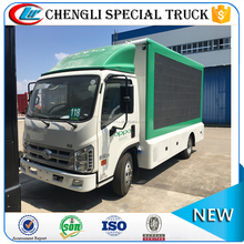 Forland KangRui 1 side P6 Screen Mobile LED AD Trucks with stage