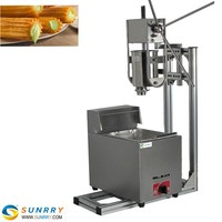 2015 new design most popular deep automatic churros making fryer machine in snack machines