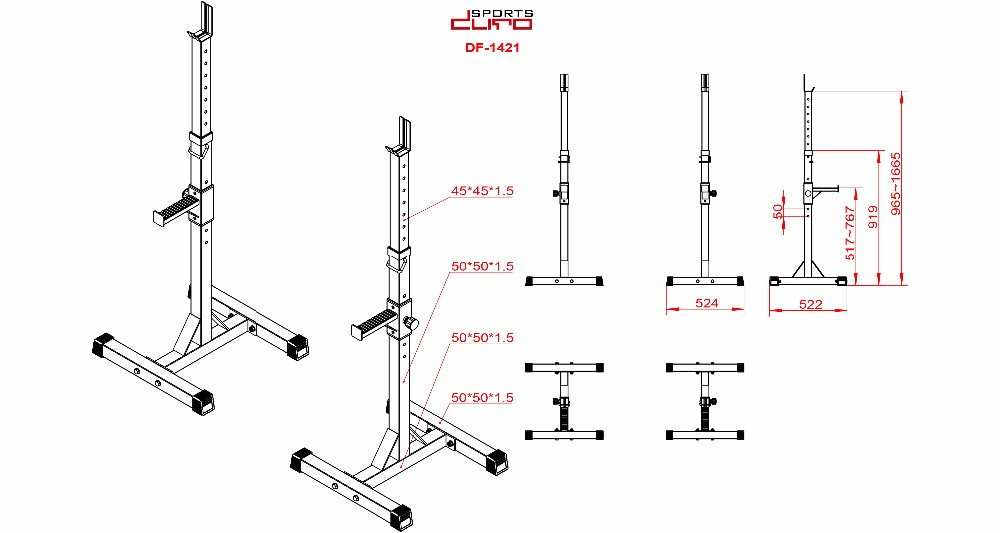 factory price commercial oem home gym equipment barbell