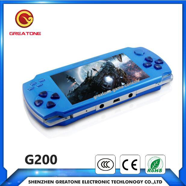 Download games portable mp4 game player with games pmp16gb multi-funcation mp5 player 4.3