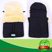 Stroller Sheepskin Foot Muff For Baby