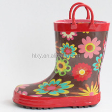 cheap kids rubber rain boots