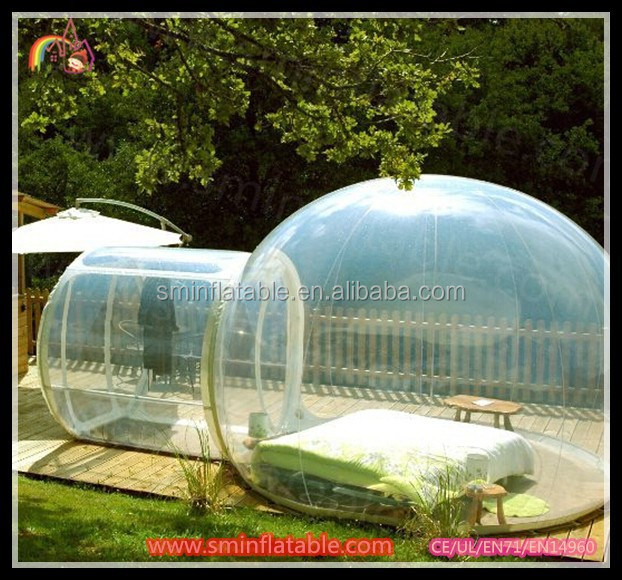 transparent inflatable balloon tents , camping tent , inflatable clear tent for sale