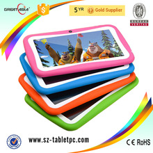 Top sale Christmas gift kids 7 inch study tablet pc Android 5.1 tablet