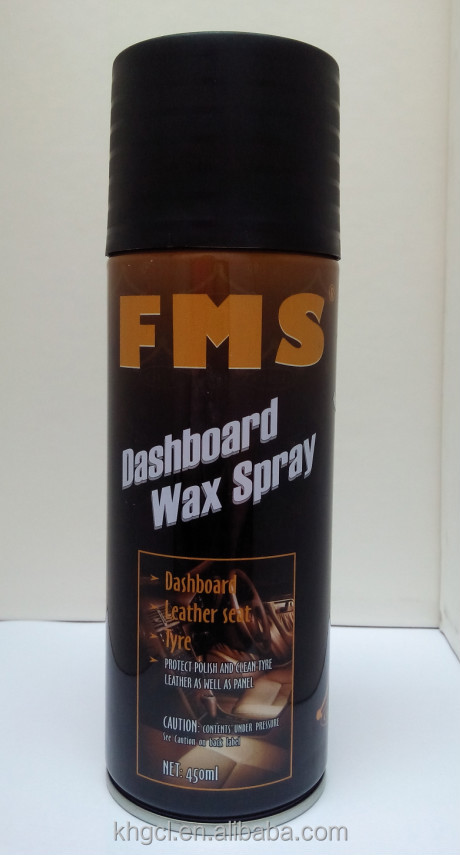 dashboard spray car polish wax 450ml